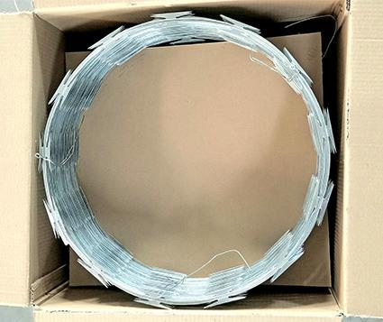 Single Coil Razor Barbed Wire