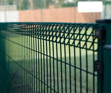 BRC fencing . Roll Top Fence