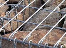What Garden Landscape Architecture Are Often Used for Gabion Cages?