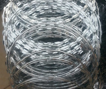 Single Coil Razor Barbed Wire